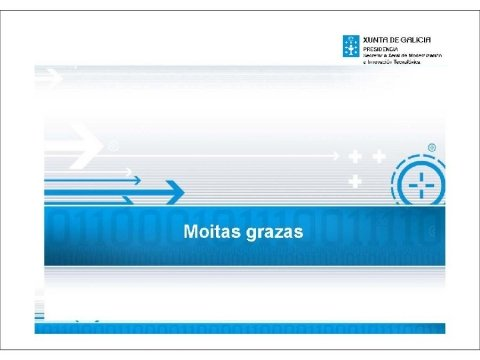 Presentación Jaime Barros Leboreiro, subdirector xeral de Calidade, Interoperabilidade e Seguridade da Secretaría Xeral de Modernización e Innovación Tecnolóxica  - Seminario de boas prácticas na contratación TIC